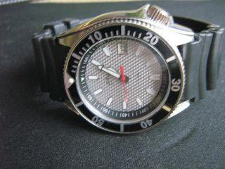 Markante S`oliver Armbanduhr Im Diver Style Mit Box Taucheruhr Look Bild