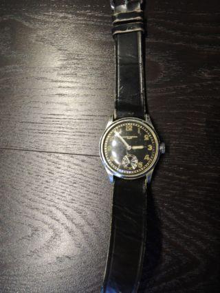 Record Watch Genf 2.  Weltkrieg Uhr Sammlerstück Bild