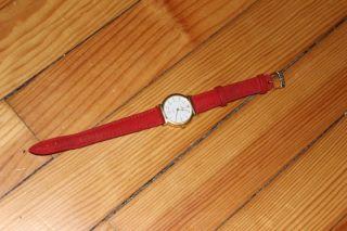 Schöne Uhr Von Dugena - Rot Bild