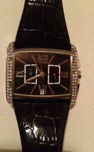 Joop Uhr Leder Schwarz Neuwertig 289€ Bild