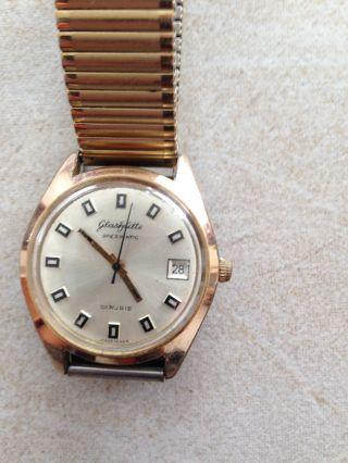 Armbanduhr Glashütte Spezimatic Ddr 26 Rubis,  775870 Bild