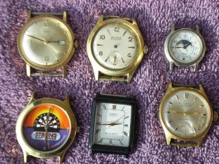 Defekte - Rare - Armbanduhren Bifora - Kienzle - Mastergrade/dart - Pratina Bild