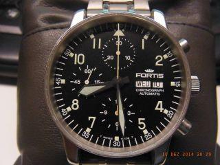 Fortis Chronograph Cosmonaut Automatik Ref.  Nr.  597.  10.  141 Bild