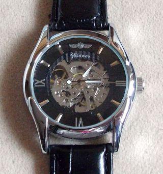 Herren Uhr,  Jaragar,  Automatik,  Skelettuhr, Bild