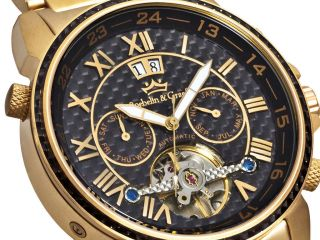 Roebelin & Graef Karthago Automatikuhr,  Armbanduhr,  Herrenuhr,  Sehr Selten Bild