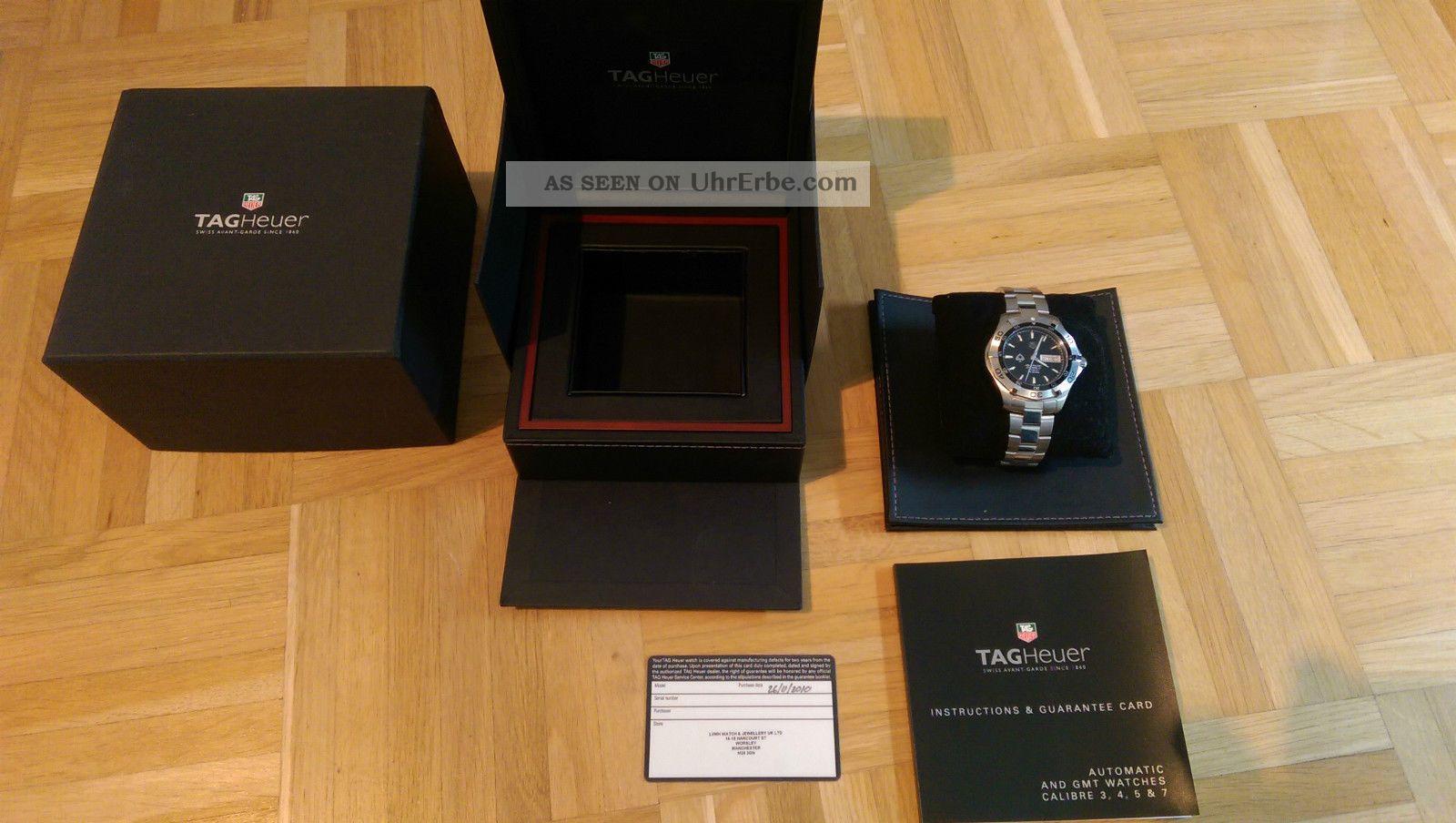 Tag Heuer Aquaracer Calibre 5 300m - Pokerstars Limited Edition Waf2013 Armbanduhren Bild