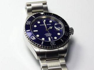 Marc & Sons Diver,  Taucheruhr Msd - 016,  Automatik,  Saphirglas Automatic Watch Bild