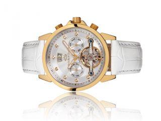 Roebelin & Graef Luxus Automatikuhr Mit Diamanten,  Damenuhr,  Und Sehr Selten Bild