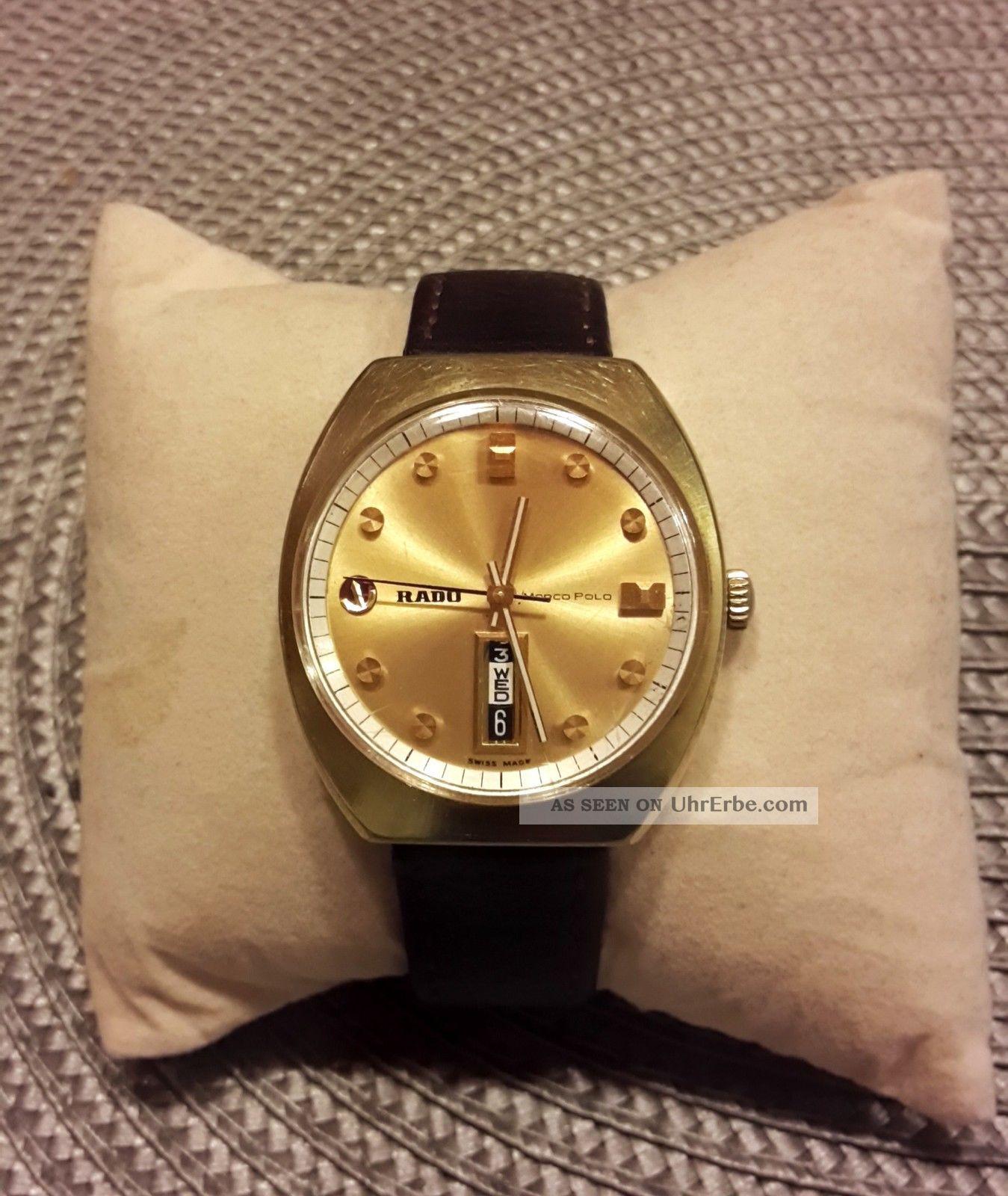 Rado Marco Polo Herren Automatic Uhr Mit Datum