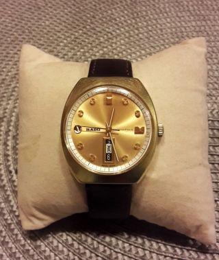 Rado Marco Polo Herren Automatic Uhr Mit Datum Bild