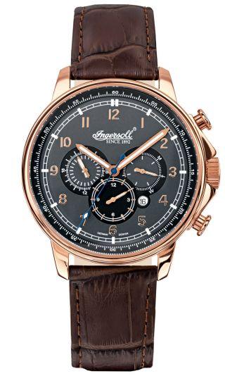 Ingersoll Russel Automatik Herren Uhr In3215rgy Bild