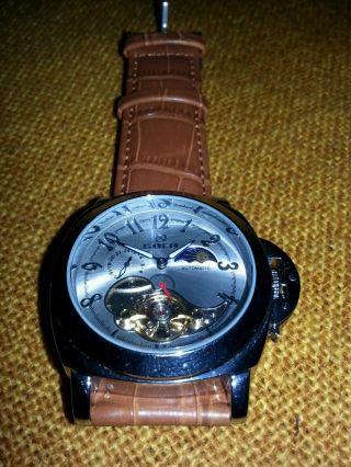 Goer Automatik Herren Armbanduhr,  Mit Vielen,  Ohne Ovp Bild