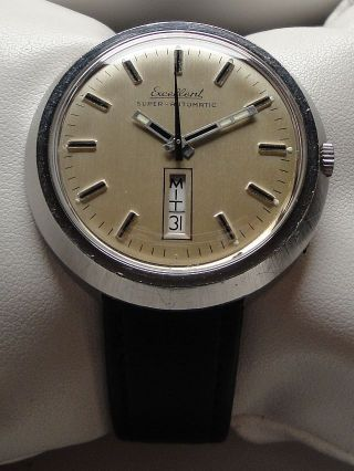 Vintage Armbanduhr - Automatic–cal.  Eta 2789 - Day Date – Big Size Bild