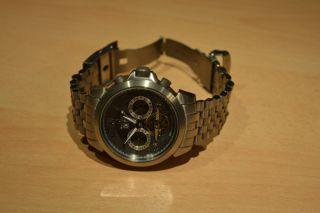 Titan Chronograph - Rover & Lakes Mastertime - Automatik Herrenuhr Offene Unruh Bild
