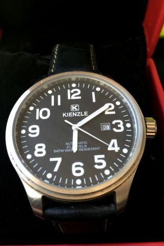Kienzle Automatic - Uhr,  40 Mm,  Lederarmband,  Mit Box Bild