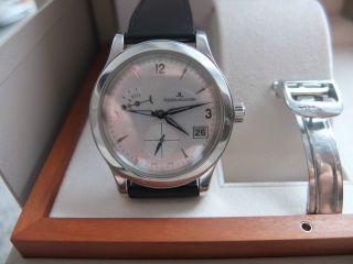 Jaeger - Lecoultre Master Control Hometime Armbanduhr Für Herren (147.  8.  05.  S) Bild