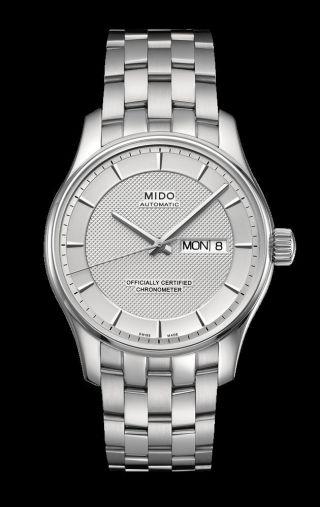 Mido Belluna Automatik Chronometer,  Hau Edelstahl,  Neuwertig,  Restgarantie Bild