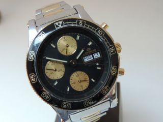 Lorenz Automatik Chronograph - Vintage Taucherchrono - Valjoux 7750 - Selten - Bild