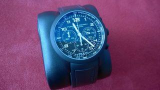 Porsche Design P 6612 Chronograph Dashboard Black Titan Neuwertig Bild