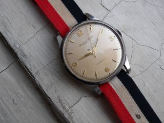 Iwc Automatic Uhr Stahl Cal.  852 Vintage Iwc Automatic Steel Watch 50s Bild