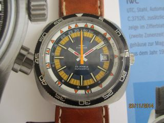 Dugena Armbanduhr,  Herrenuhr,  Herrenarmbanduhr Vintage Bild