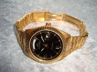 Astron Automatic Daydate Herren - Uhr Neuwertig Aus Sammlung Automatik Bild