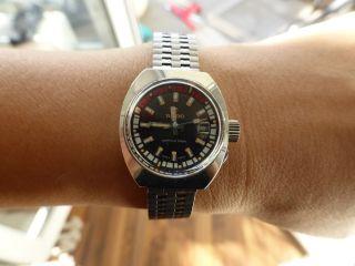 Uhr Vintage Rado Captain Cook Diver Für Sie Bild