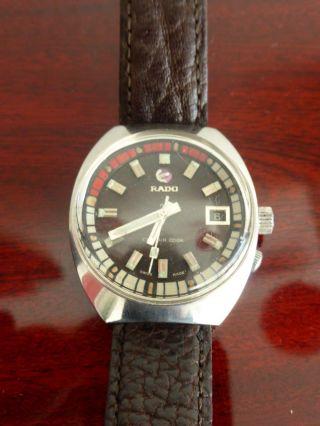 Uhr Vintage Rado Captain Cook Diver Für Ihn Bild