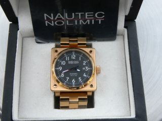Nautec No Limit Automatic 30atm Neuwertig Mit Ovp Bild