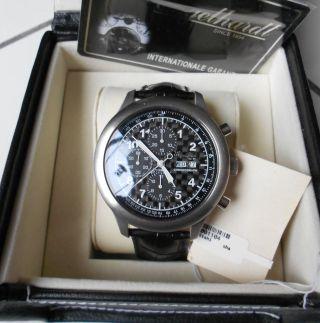 Engelhardt Chronograph Cal.  7750 - Karbon Ziffernblatt 48cm Edelstahl - Limitiert Bild
