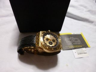 Massiv Delorean Automatik 20 Jewels Herrenuhr,  Aus Meiner Uhren Sammlung Bild