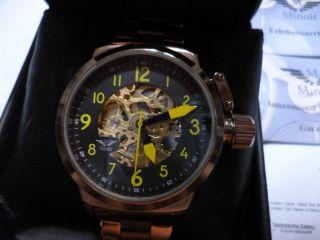 Wunderschöne Minoir Voves Automatik Herrenuhr,  Aus Uhren Sammlung Bild