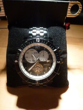 Armbanduhr Aatos Model Agilus Bbb Automatikuhr Ovp Mit Anleitung Bild