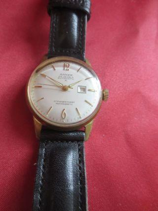 Anker 25 Jewels Automatic A Armbanduhr - Lederarmband Bild