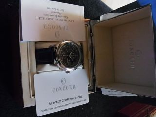 Originale Herren Luxusuhr Fa Concod Chronograph Eta 7750 Automatik Np 1699euro Bild