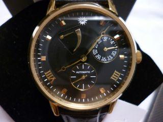 R.  U Braun Automatik 28 Jewels Herrenuhr 349€,  Aus Meiner Uhren Sammlung Bild