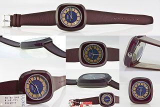 Nos Certina Keramik Automatik Vintage,  Kaliber 25 - 651,  Saphierglas,  Ca.  1970 Rar Bild