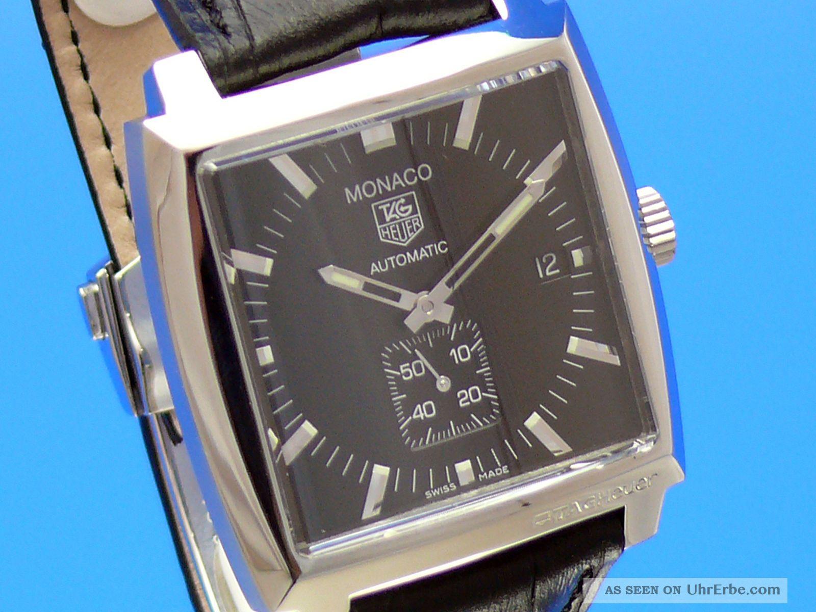 Tag Heuer Monaco Saphirglas Ww2110 - 0 Von Uhrencenter Berlin Armbanduhren Bild