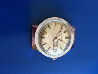 Vintage Timex Automatic Herrenarmbanduhr Mit Day & Date,  Wasserdicht Bild