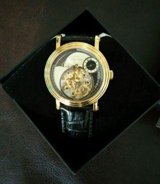 Automatik Uhr Von Der Edelmarke Graf Von Monte Wehro Bild