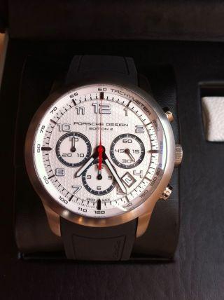 Porsche Design Edition 2 Chronograph Dashboard P ' 6612 - Limitiert Auf 500 Stück Bild