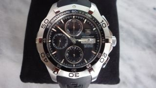 Tag Heuer Aquaracer Chronograph 43 Mm Caf2010 Bild