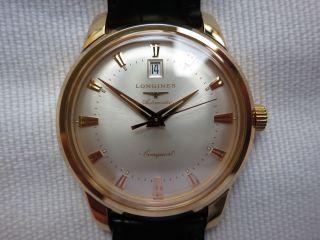 Longines Conquest Heritage Rosé Gold 18k Pink Gold,  40 Mm Ref.  L1.  645.  8.  75.  4 Bild