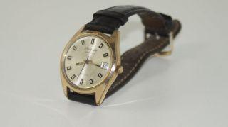 Armbanduhr Glashütte Spezimatic,  Gub,  26 Rubis,  Goldplaque Bild