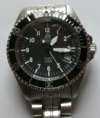Tauchmeister Automatic U - Boot Bild