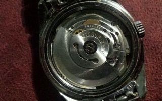 Seiko Eterna Kontiki 20 Automatik Uhr Mit Blauem Zifferblatt Bild