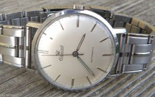 Exquisit Automatik 25 Jewels,  Armbanduhr,  Herrenuhr,  Eta Swiss Watch Automatic Bild