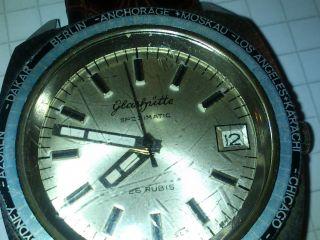Glashütte Spezimatic Worldtimer Automatic Analog Bild