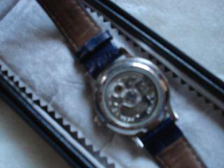 Constantin Weisz Unisex Automatik Uhr (edelstahl Skelet Uhr) Top Bild