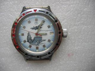Russische Komandirskie Armbanduhr Automatic Bild
